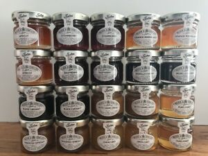Tiptree 20 x Mixed jams,curds,spreads,honey. Great As Wedding Favours Or Holi