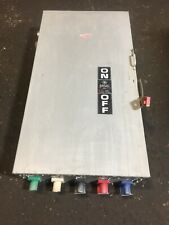 Ge Thn3365 Heavy Duty Safety Switch 600 Vac 400 Amp 350 Hp
