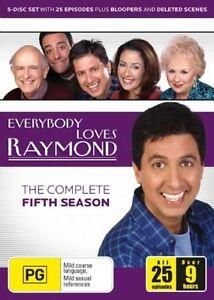 Everybody Loves Raymond : Season 5 (DVD, 2006, 5-Disc Set)