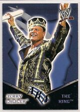 2002 Fleer WWE Royal Rumble Jerry Lawler AKA The King