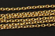 1 metro Oro Placcato Catena incrociate 3,9 x 2,7 mm trovare