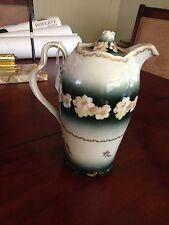 Vintage Rosenthal Chocolate Pot Crown R.C. Iris