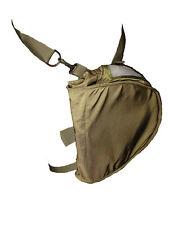 Military Gask Mask Carrier Messenger Bag - Olive Drab  - Surplus (Excellent)