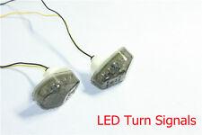 1 LED Turn Signals Lights for kawasaki ZX6R ZX7R ZX9R ZX10R ZX12R ZZR600 Smoke