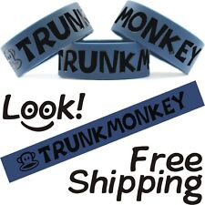 Trunk Monkey Funny One Inch Band Monkeys In Trunk Wristband Free Shipping