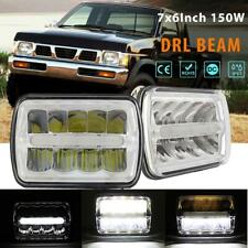 "7x6"" LED HEADLIGHT DRL LIGHT BULB SEALED BEAM HEADLAMP FOR CHEVY GMC PLYM DODGE"