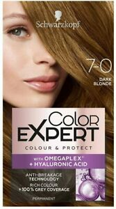Schwarzkopf Color Expert With Omega Plex 7-0 DARK Blonde Permanent Colour