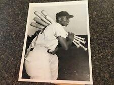 1950s Autograph Ernie Banks Jsa original  photo type 1  Chicago Cubs