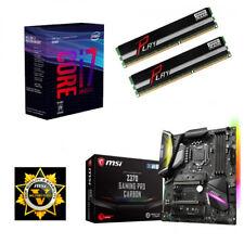 Bundle Intel Core i7 8700+6x@4,60GHz-MSI Z370 Gaming Pro-16GB PC2400-HDMI+DP