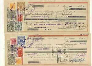 Spain 1952 two Postal Stationarys/ Money orders