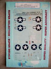 48-491 F4U-1/FG-1 Corsair Skipper's Orchid HQSS-22 Ryukyu 6/45 USS Bunker Hill