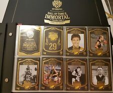 NEW RICHMOND TIGERS  HALL OF FAME IMMORTALS ALBUM SET 129 CARDS SELECT