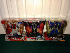 Transformers G1 Masterpiece Seekers ALL MISP! Starscream Skywarp Thundercracker
