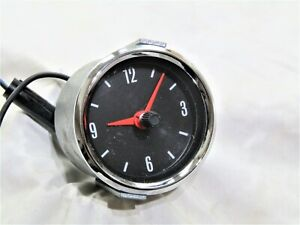 CLASSIC BORG 12 VOLT CAR CLOCK FITS MG LOTUS FORD VW