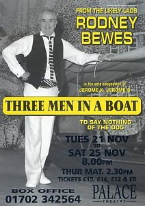 RODNEY BEWES Theatre Flyer Handbill