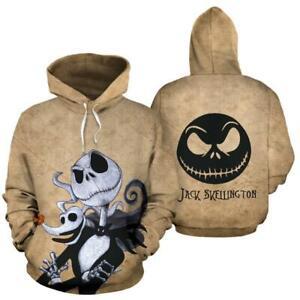 Jack Skellington The Nightmare Before Christmas Hoodie 3D Print