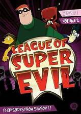 #5 LEAGUE OF SUPER EVIL Season 1 Vol. 2 New Sealed Cartoon DVD FREE Set SHIPPING