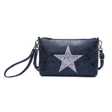 Woman synthetic leather nice simple Small Messenger Cross Body Shoulder Star Bag