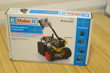 NEW Radio Shack MAKE: It Robotics Add-On Project Kit 2 Boxer Sweeper etc 2770170