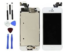 White LCD Touch Screen Display Digitizer Assembly Replacement for iPhone 5 Tools