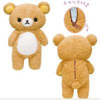 San-x Rilakkuma Bear Pillow Plush Toy 55cm Stuffed Xmas Relax Doll Birthday Gift