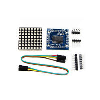 RED MAX7219 dot matrix module Arduino microcontroller module DIY KIT
