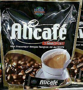 Coffee with tongkat ali ginseng Power roots Alicafe