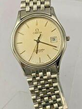 1982 Omega Seamaster super slim quartz wristwatch 1430 6 jewel movement