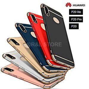 COVER per Huawei P20/Lite/Pro CUSTODIA Protezione 360°RIGIDA Antiurto Ultra Slim