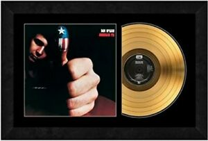 "American Pie by Don McLean 24kt Gold Plated Record (Size: 17"" x 26"") Framed"