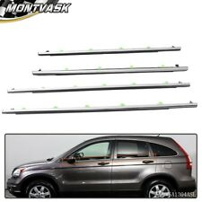 Window Moulding Trim Weatherstrips For Honda Cr-V Crv 2007 2008 2009 2010 2011 (Fits: Honda)