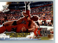 2001 Fleer WWE Wrestlemania #97 Kane Stone Cold Steve Austin