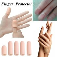5Pcs Silicone Finger Protector Sleeve Insulation Anti-skid Cover Hand Protection