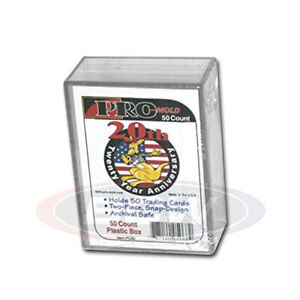 50 COUNT BCW Deck Snap Box