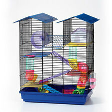 House Design Hamster Cage House for Mice Rodent Mouse Pet Habitat