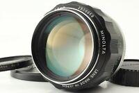[Near Mint] Minolta MC ROKKOR PF 85mm f1.7  Portrait MF Lens filter From Japan
