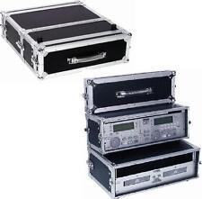 "Doppel-CD-Player-Case Tour Pro, 3HE, sw, 19"" - DJ-Rack für Doppel-CD-Player NEU"