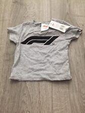 Formula 1 Kids T-shirt 3-6 Months BNWT