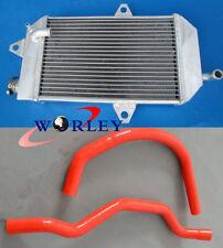 FOR YAMAHA ATV BANSHEE YFZ350 1987-2007 88 89 90 91 aluminum radiator +RED hose