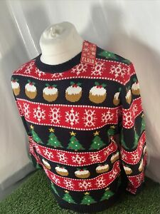 Adult Christmas Jumper Size M Fluid Brand New Tags