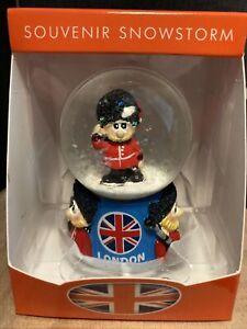 Mini London Guardsman Snow Globe Brand New Gift Souvenir