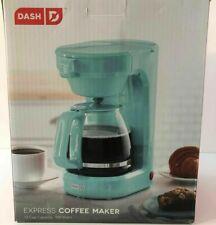 Dash Coffee Maker 12 Cup Express Aqua Blue