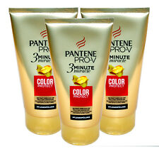 3x Pantene Pro-V, 3 Minute miracle, Color Protect Spülung, je 150ml (100ml=1,76)