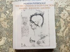 Human Physiology textbook c1980 Vander Sherman Luciano