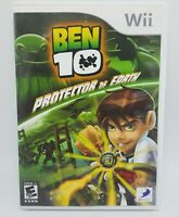 Ben 10: Protector of Earth (Nintendo Wii, 2007) - Complete & Tested.  Free Ship