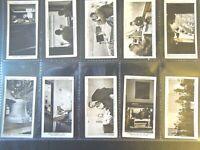 1935 Ogdens BROADCASTING radio history complete set 50 cards Tobacco Cigarette