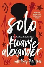 Solo: Kwame Alexander (NEW 1st edition hardcover with dust jacket)