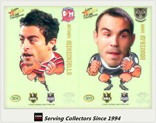 2008 NRL Champions Mascot Gem Card Full Set (16)--RARE!