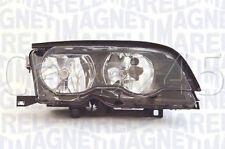 BMW Halogen Headlight Lamp RHD Black 2DR N/S Fits E46 Coupe Facelift 2002-2005