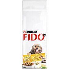 Fido Croq Mix Croquettes pour Chien adulte Poulet Céréales